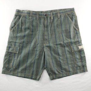 Vintage JNCO Classic Cargo Mens Shorts Plaid